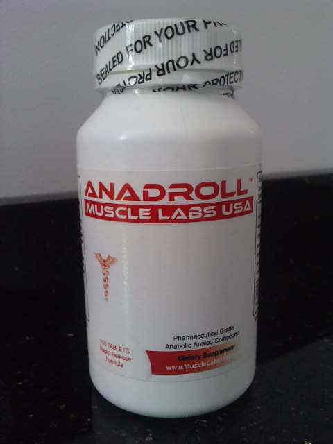 Muscle Labs USA - Anadroll - 100 tablets