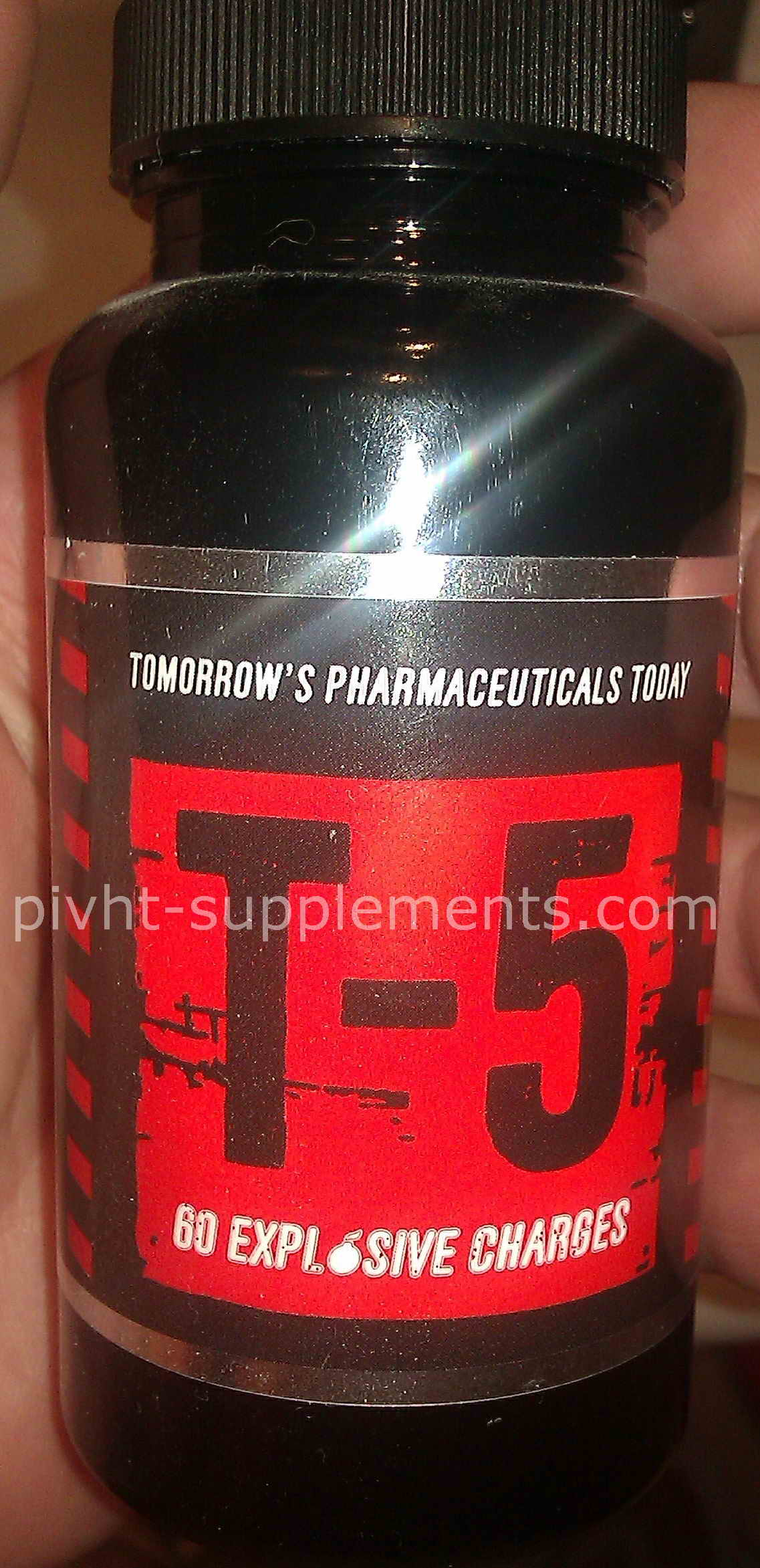 Zion Labs T-5 t5 fatburner energy booster preworkout with