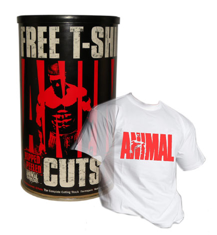 Universal Nutrition Animal Cuts 42 Pack Nutrition Animal Cuts 42