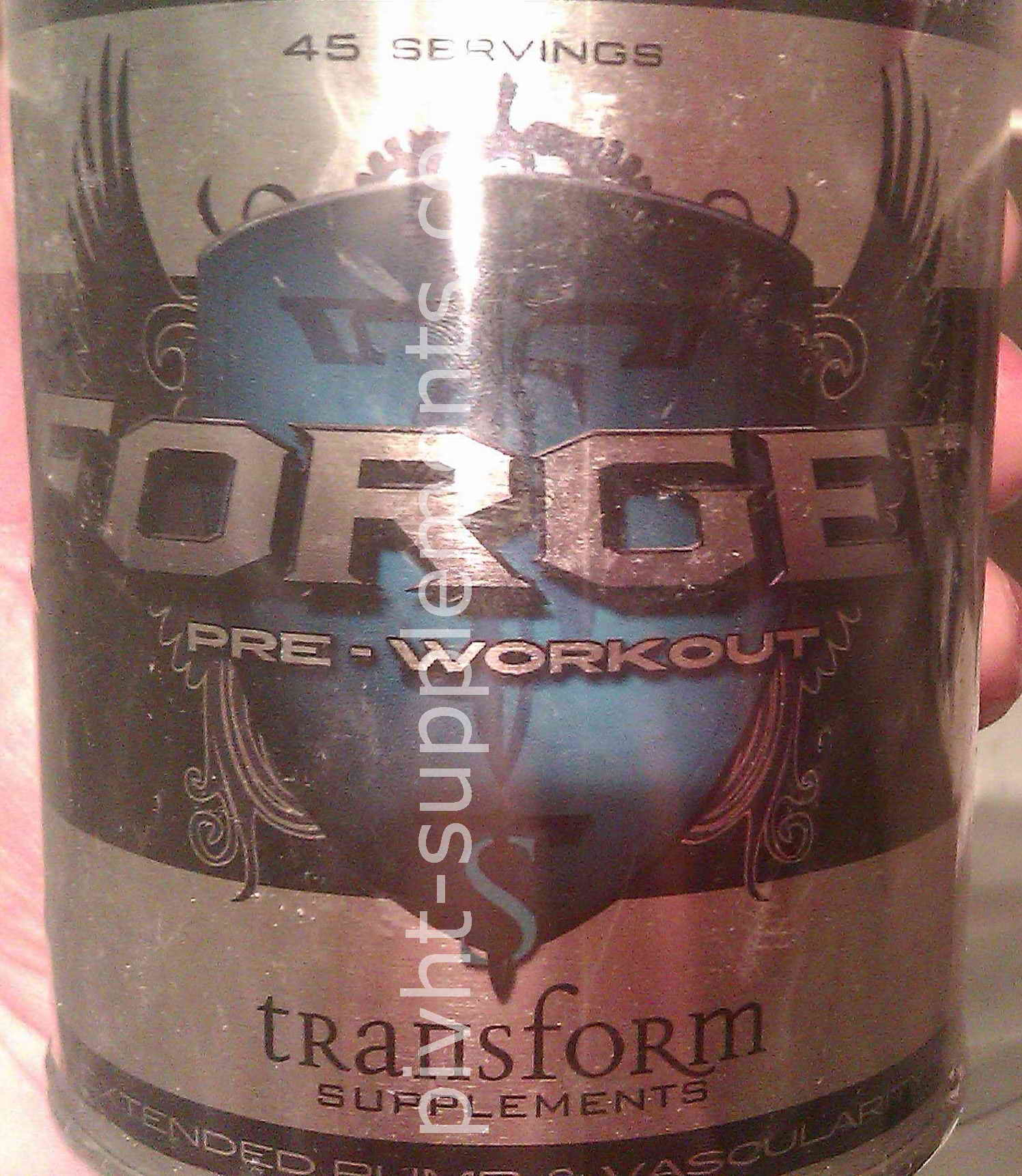 Transform Supplements - Forged Pre-Workout - 315g / 45 portions